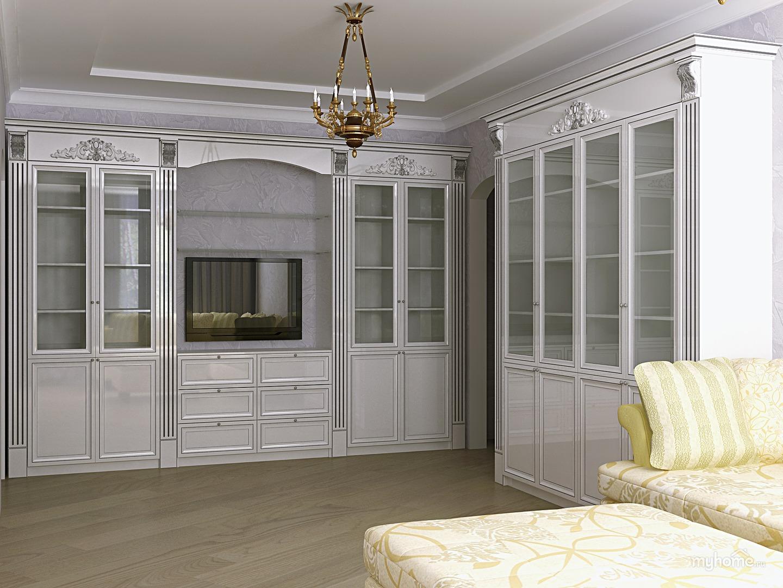 Встроенная Мебель В Гостиную Фото Москва