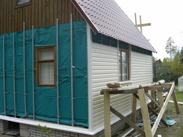 Ремонт фасада деревянного дома своими руками - Sort-metall.ru