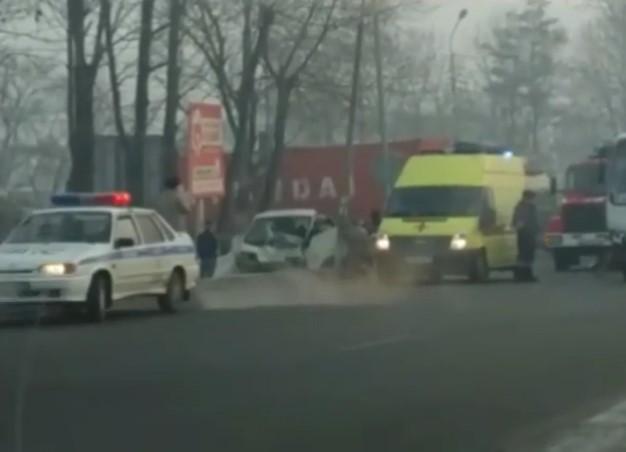ВПриморье вДТП пострадали 5 человек